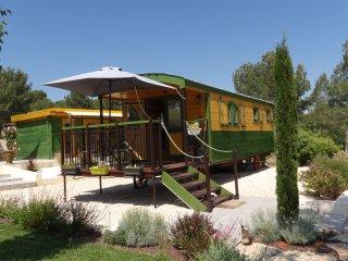 Escapade Romantique en Roulotte au cœur de la Provence