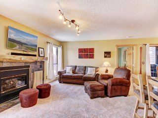 Cozy Mountain Condo Walking Distance to Slopes and Downtown Breckenridge!