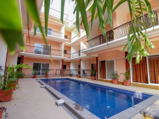 Siolim Fortune Casa apartment fully furnished 2 Bed apartment pool facing view