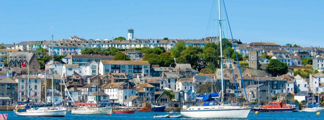 Falmouth has the world's third largest deep-water harbour and is renowned for the arts