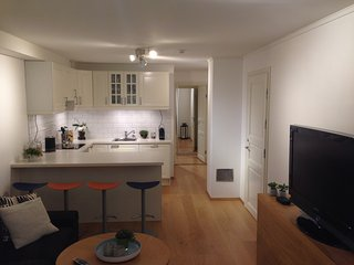 Cozy basement apartment near central Oslo