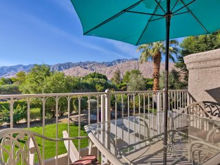 NEW! Unique 2BR Palm Springs Condo - Mtn Views!