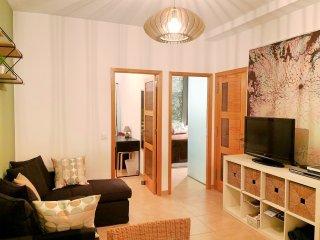 Cómodo y equipado apartamento cerca de la playa