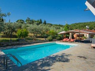 3 bedroom Villa in Pergine Valdarno, Tuscany, Italy : ref 5055585