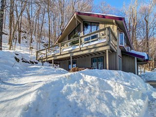 Gorgeous cabin with mountain views, near gondola & nature - walk to ski slopes!