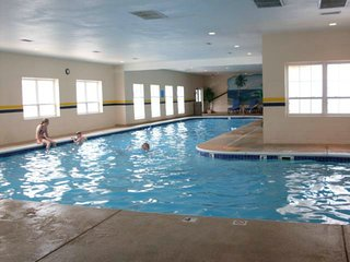 Enjoy the Indoor Pool, Hot Tub, Game Room, Fitness Rm at the Clubhouse. Amenities Pass is in condo.