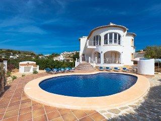 Villa Blake en Teulada-Moraira,Alicante para 7 huespedes