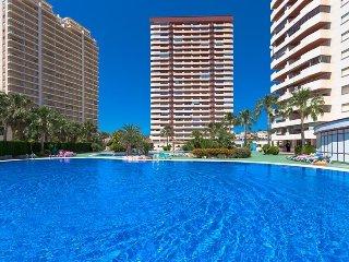 Apartamento Coral Beach en Calp,Alicante para 4 huespedes