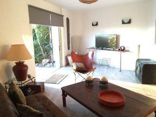 Bel appartement 3 pièces dans villa d'architecte située dans un domaine privé