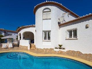 Villa Olivos en Benissa,Alicante para 4 huespedes
