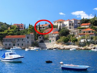 Two bedroom apartment Prigradica (Korcula) (A-193-b)