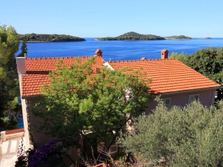 Two bedroom apartment Prižba, Korčula (A-176-a)