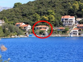 Two bedroom apartment Žrnovska Banja, Korčula (A-194-a)