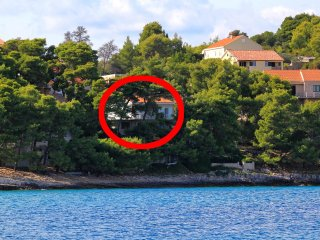 Three bedroom apartment Lumbarda, Korcula (A-135-a)