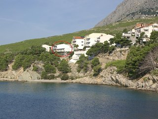 Two bedroom apartment Lokva Rogoznica, Omiš (A-2762-a)