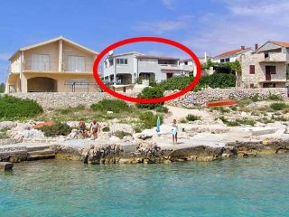 One bedroom apartment Sevid, Trogir (A-4287-a)