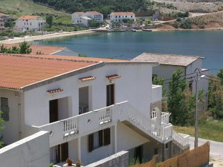 Two bedroom apartment Metajna (Pag) (A-4150-b)