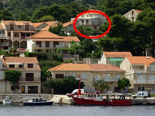 Two bedroom apartment Brna (Korcula) (A-4333-a)