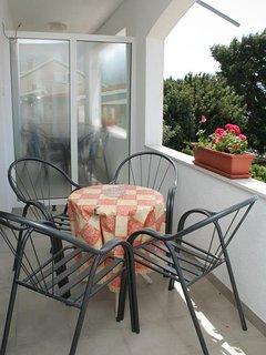 Terrace 2, Surface: 7 m²