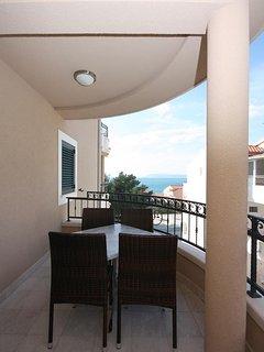 Balcony 1, Surface: 9 m²