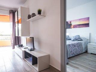 In Playa de las Americas, one bedroom apartment