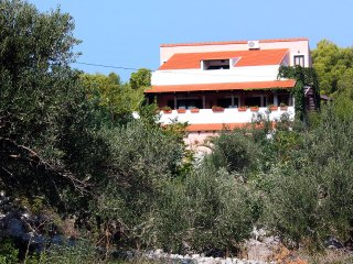 Maslinica Apartment Sleeps 2 with Pool Air Con and WiFi - 5463991