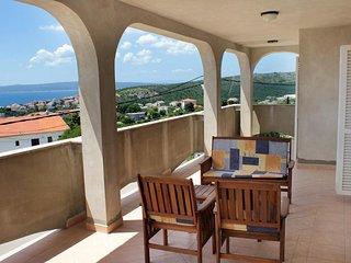 Novi Vinodolski Apartment Sleeps 6 with Pool Air Con and WiFi - 5464386