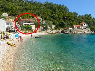 One bedroom apartment Cove Skozanje bay - Skozanje (Hvar) (A-5713-b)