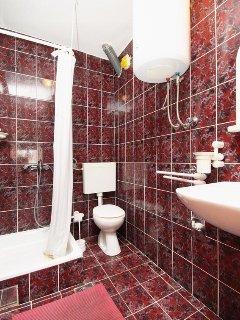 Bathroom, Surface: 3 m²