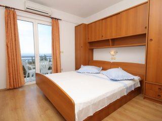 Studio flat Brela, Makarska (AS-6895-b)