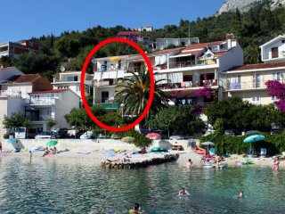 Three bedroom apartment Podgora, Makarska (A-6670-a)