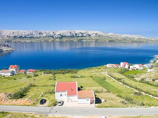 One bedroom apartment Metajna (Pag) (A-6389-e)