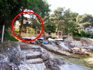 One bedroom apartment Sobra, Mljet (A-7531-a)