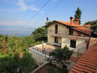 One bedroom apartment Medveja (Opatija) (A-7924-a)