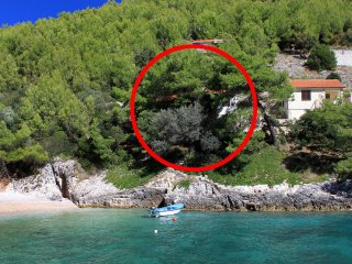 Three bedroom apartment Cove Bratinja Luka (Korčula) (A-4434-a)
