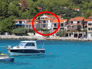 Three bedroom apartment Prizba (Korcula) (A-9153-a)