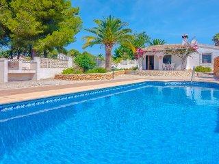 Villa Hermann en Teulada-Moraira,Alicante para 4 huespedes