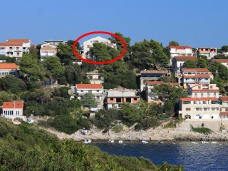 Two bedroom apartment Zavalatica (Korcula) (A-9144-b)