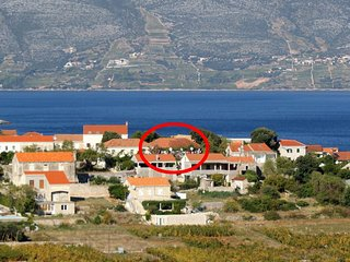 Two bedroom apartment Lumbarda (Korcula) (A-9262-a)