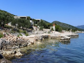 Two bedroom apartment Cove Pjestata (Peljesac) (A-10210-a)