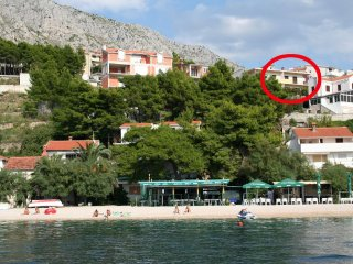 Two bedroom apartment Stanići, Omiš (A-10350-a)