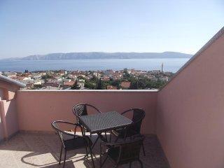 Novi Vinodolski Apartment Sleeps 7 with Pool Air Con and WiFi - 5464393