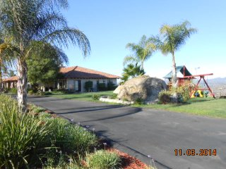 Lovely Executive Home on 8 acres with Mountain Top Views of San Pasqual Valley
