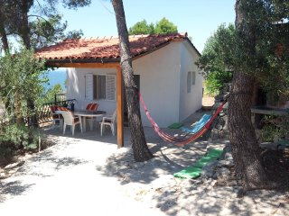 One bedroom house Milna, Brač (K-12229)