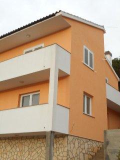 Two bedroom apartment Zaklopatica, Lastovo (A-12452-a)