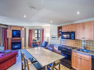 Spacious 2 Bedroom Suite with UNBEATABLE ski-in/ski-out location!