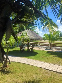 Another view of the Palapa