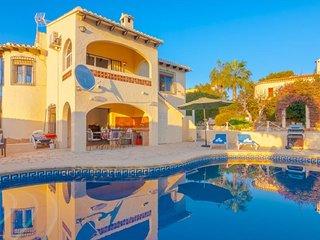 Villa Mare Selva en Benissa,Alicante,para 6 huespedes