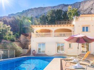 Villa Luis en Calp,Alicante para 10 huespedes