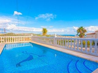 Villa Cucarres en Calp,Alicante,para 6 huespedes